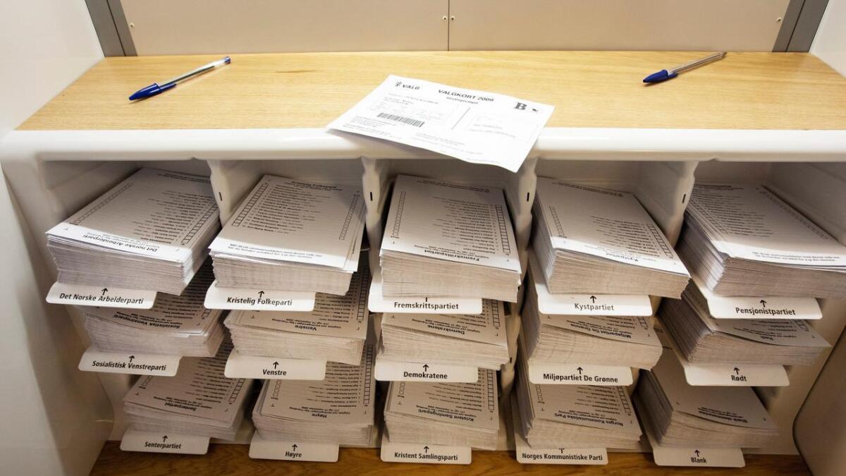 Mange navn, nye og mer velkjent, på listene i kommune og fulkestingsvalget 2019.