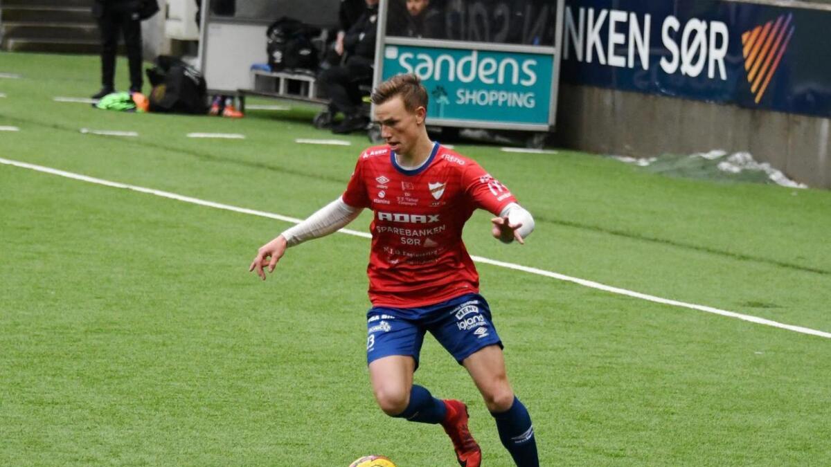 Kristian Eriksen scoret et av de tre Express-målene mot Våg. Nå skal kampen omsider avgjøres.