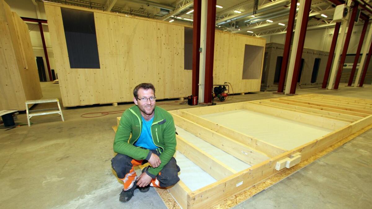 Daglig leder Bjørn Gunnar Fjellerud i Fjellerud Bygg AS.
