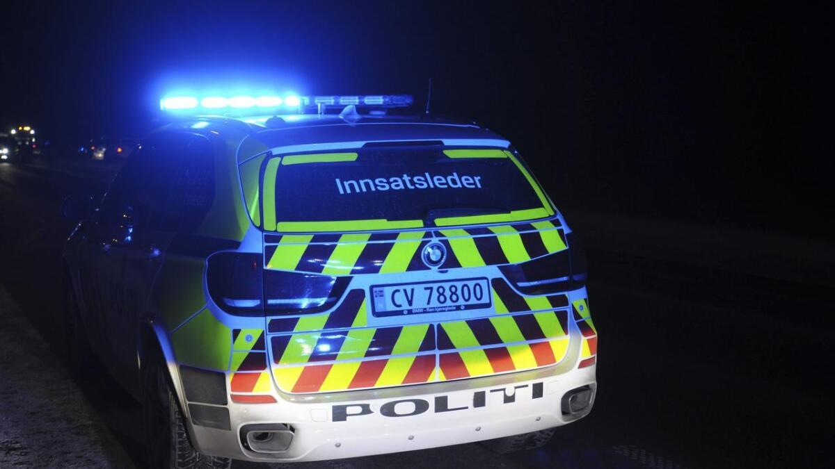 Politiet rykket ut med fem enheter til en bolig i Nes tirsdag kveld.