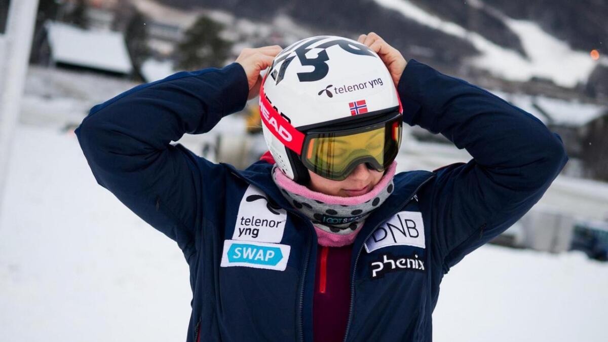 – Eg er takksam for den hjelpa eg får frå landslaget og Olympiatoppen. Det er avgjerande, seier Maria Tviberg.