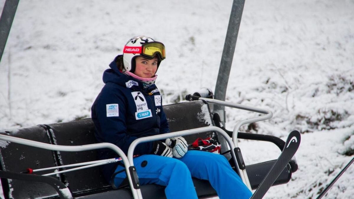 Maria Tviberg er godt kjent i løypene på Geilo.