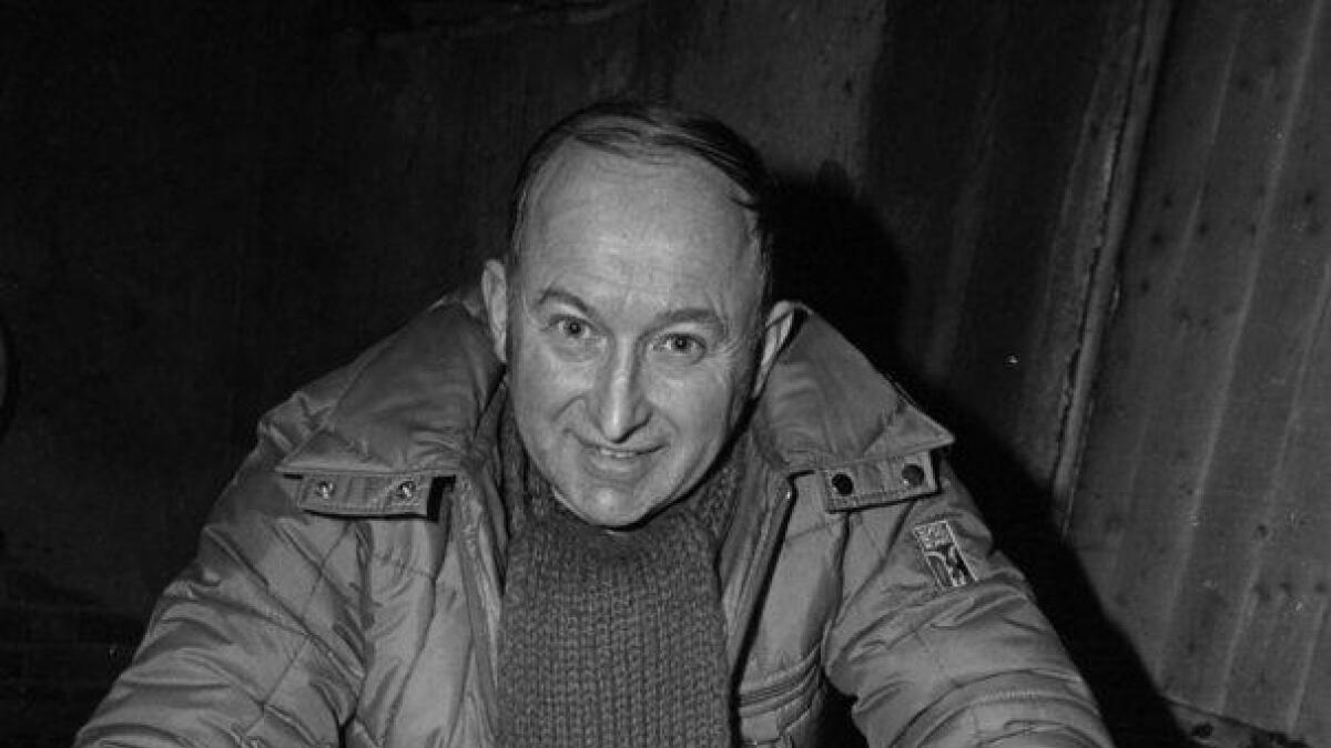 Konrad Pedersen hadde ansvaret for raking av 700 kg fisk.