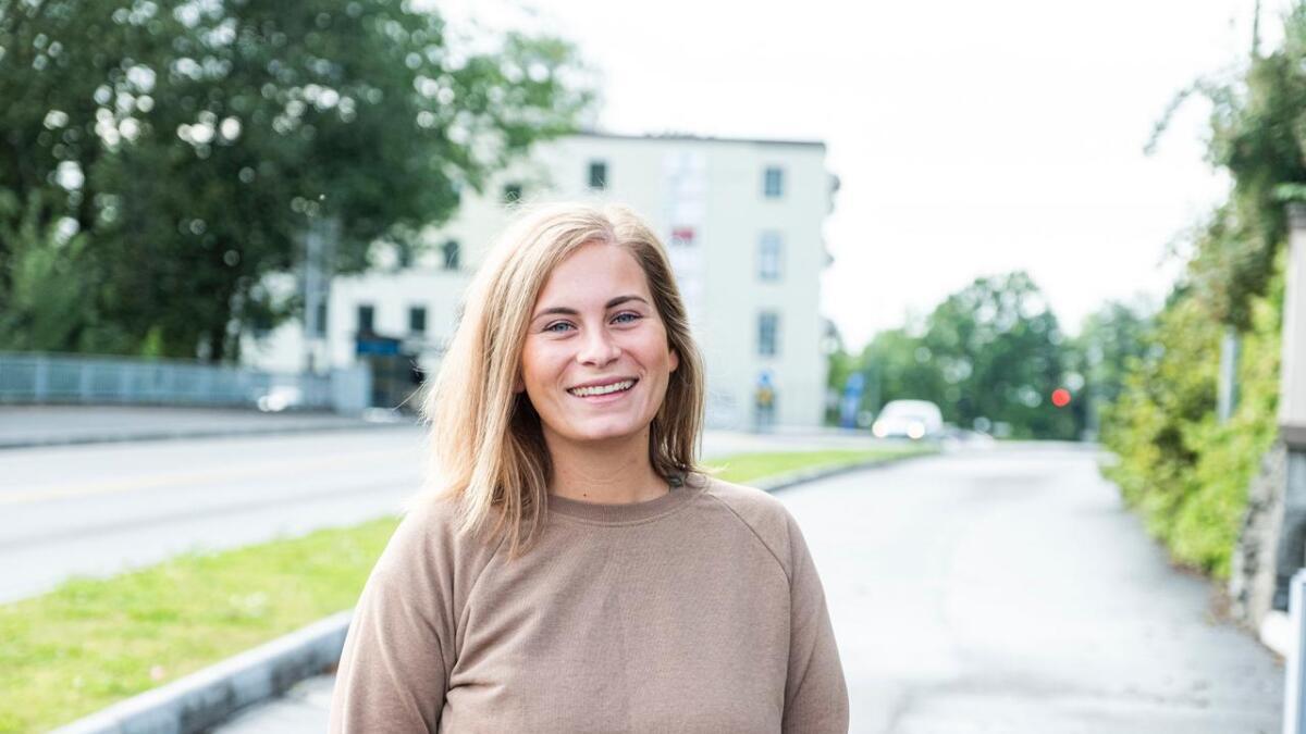 Anniken Wathne (25) er Vardens ferskeste fast ansatte journalist.
