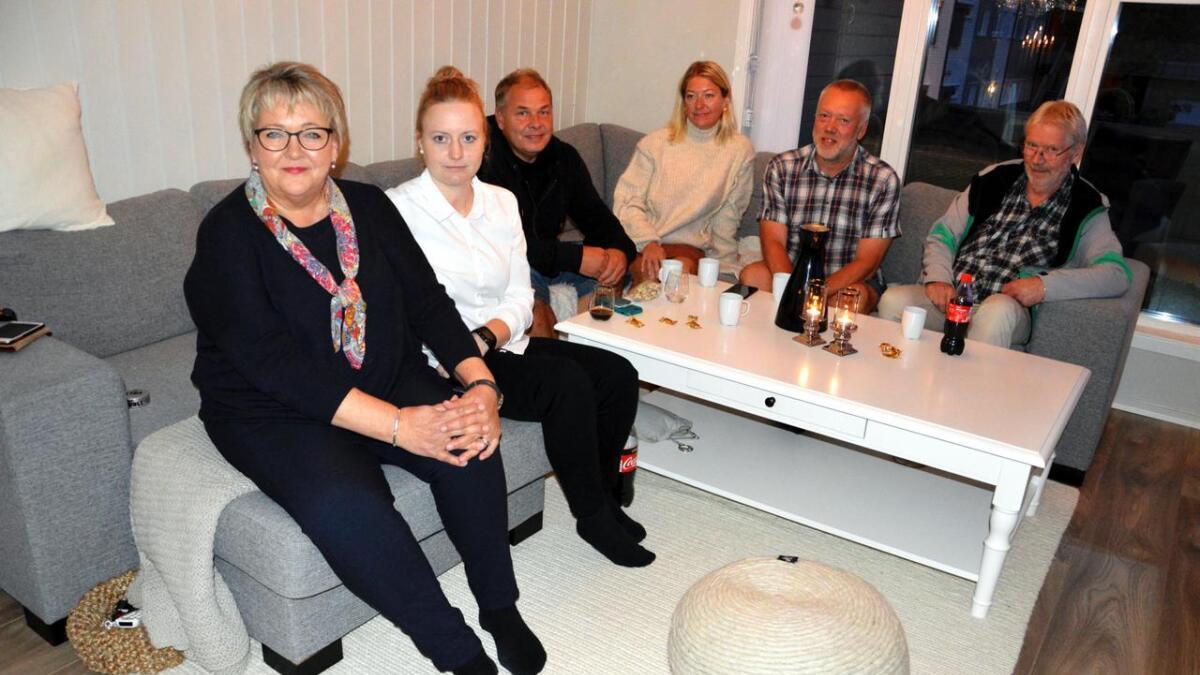 Ole Einar Seterdalen, Søse Fosteråsen, John Johansen og Jon Hirsti.