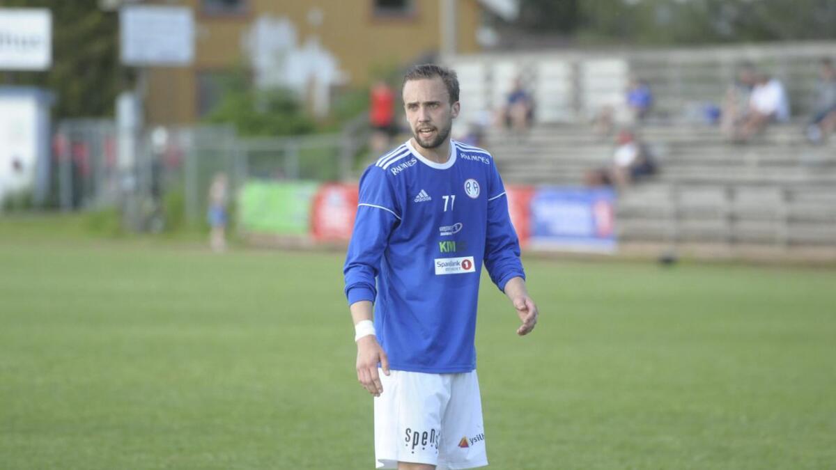 Marius Preber scoret R&Ås mål.