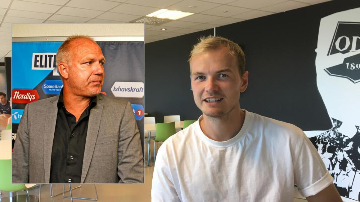 Dag Eilev Fagermo er skuffet over Viljar Røsholt Myhras valg om å forlate Odd.