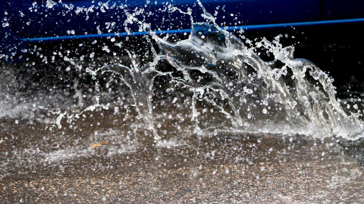 Gvarv fikk den mest intense nedbørsperioden i hele landet natt til torsdag.