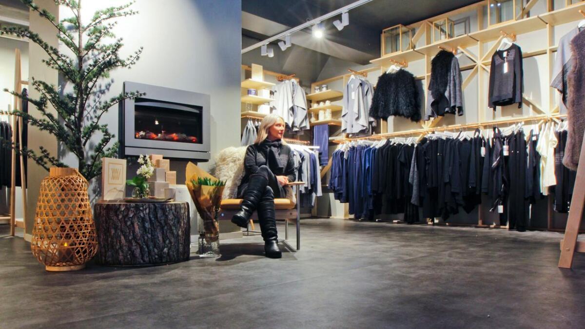 Tove Grane og We Norwegians har flytta frå Banksmidja til ny butikk i Vangsgata.