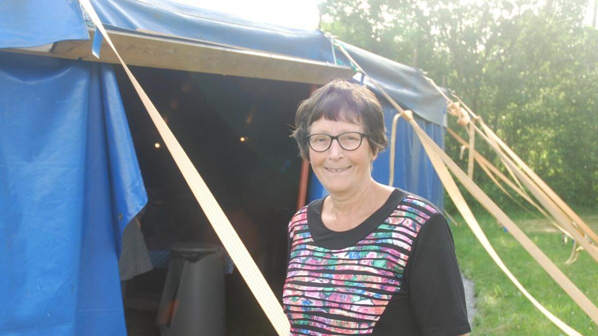 Hanne Risvold, leder av Justøyfamiliens bibelcamping