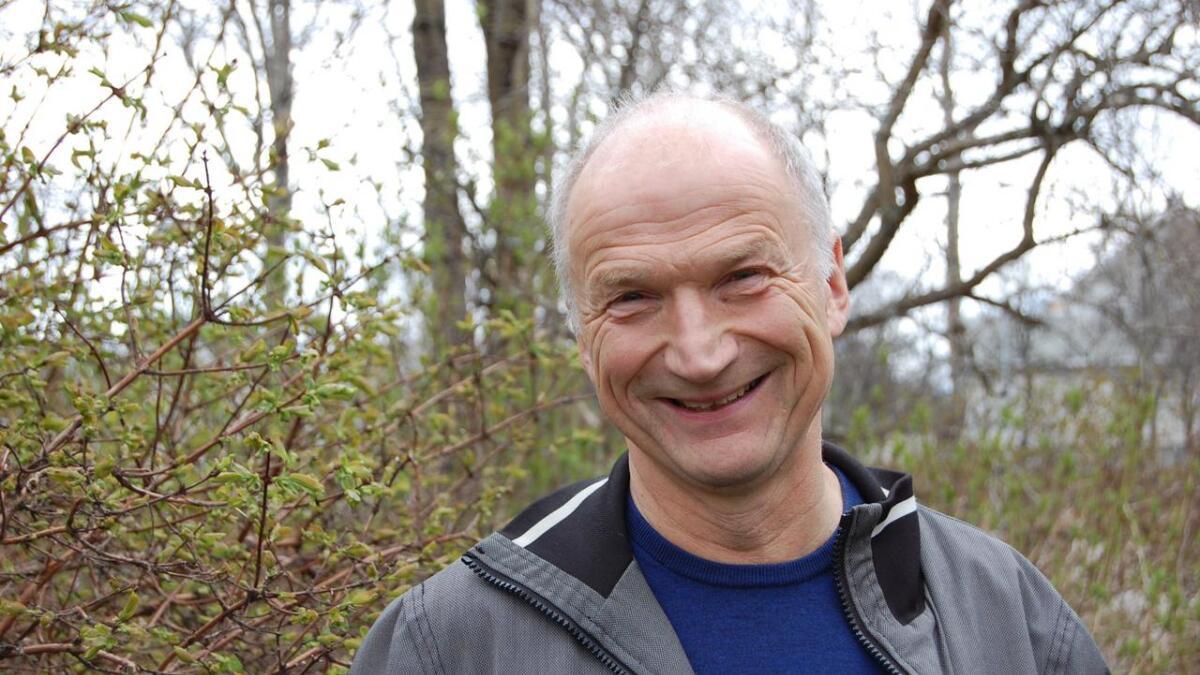 Ordførerkandidat for Sortland Sp, Karl-Erling Nordlund.