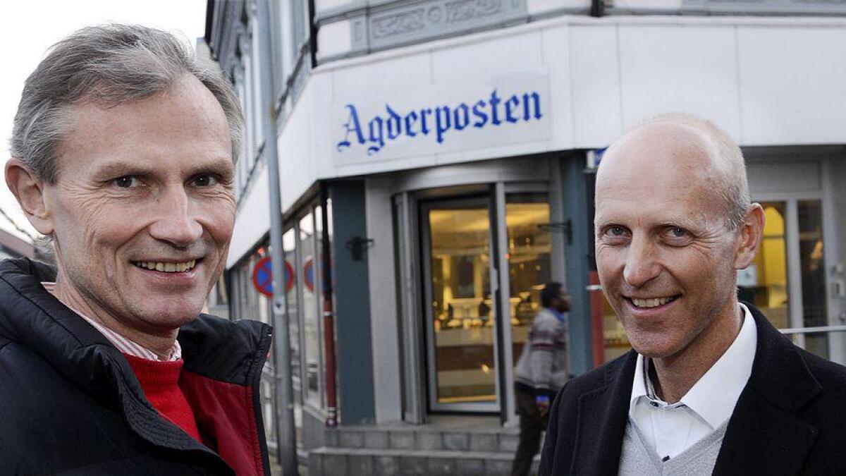 Konserndirektør Nils Kr. Gauslaa svarer i sitt innlegg.