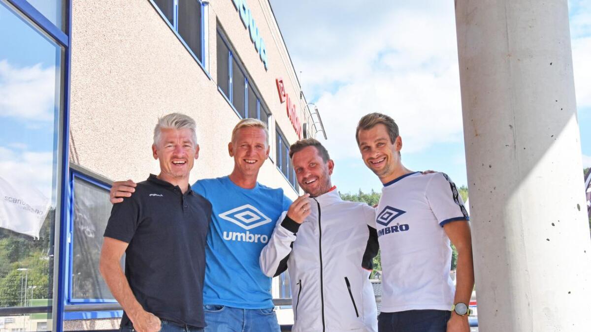 Tore Gustav Drivenes, Kjetil Dale, Jens Erik Sheppard og Joakim Hanssen.
