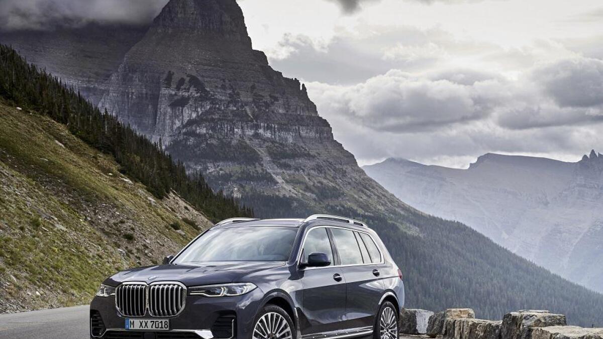 Til våren kommer BMW X7 til Norge, som blir en av de aller største SUV-ene på markedet.