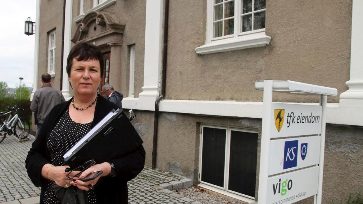 Fylkesrådmann Evi-Anni Evensen mener at søkergrunnlaget var for tynt.   8