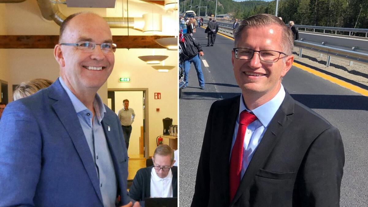 Både Kjetil Glimsdal (KrF) og Robert C. Nordli er ifølge spillselskapet Coolbet favoritter til gjenvalg i sine respektive kommuner.