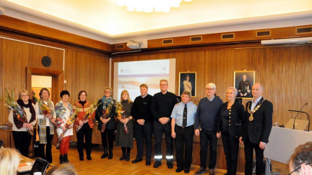 18 ansatte i Sortland kommune ble takket for 25 års tjeneste.