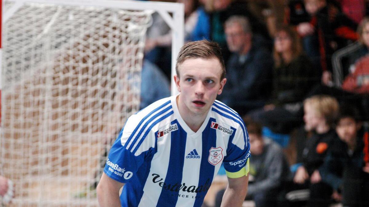 Nord/Sprint skal kommende sesong stille lag med Vesterålen 2 i 1. divisjon futsal. Nord/Sprint-kaptein Ingar Angell Nicolaysen (bildet) vil også melde overgang til Vesterålen for å ha mulighet til å spille også i eliteserien.