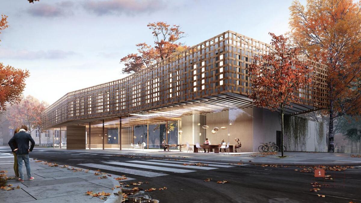 Porsgrunnsfirmaet Børve & Borchsenius vant arkitektkonkurransen om nytt museumsbygg i Brekkeparken.