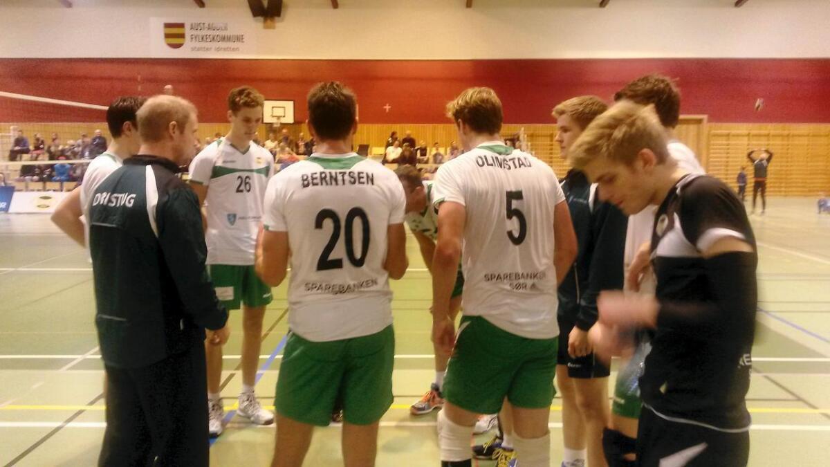 Dristug, med nestorene Jetmund Berntsen og Jostein Olimstad på laget, ble slått ut av cupen.