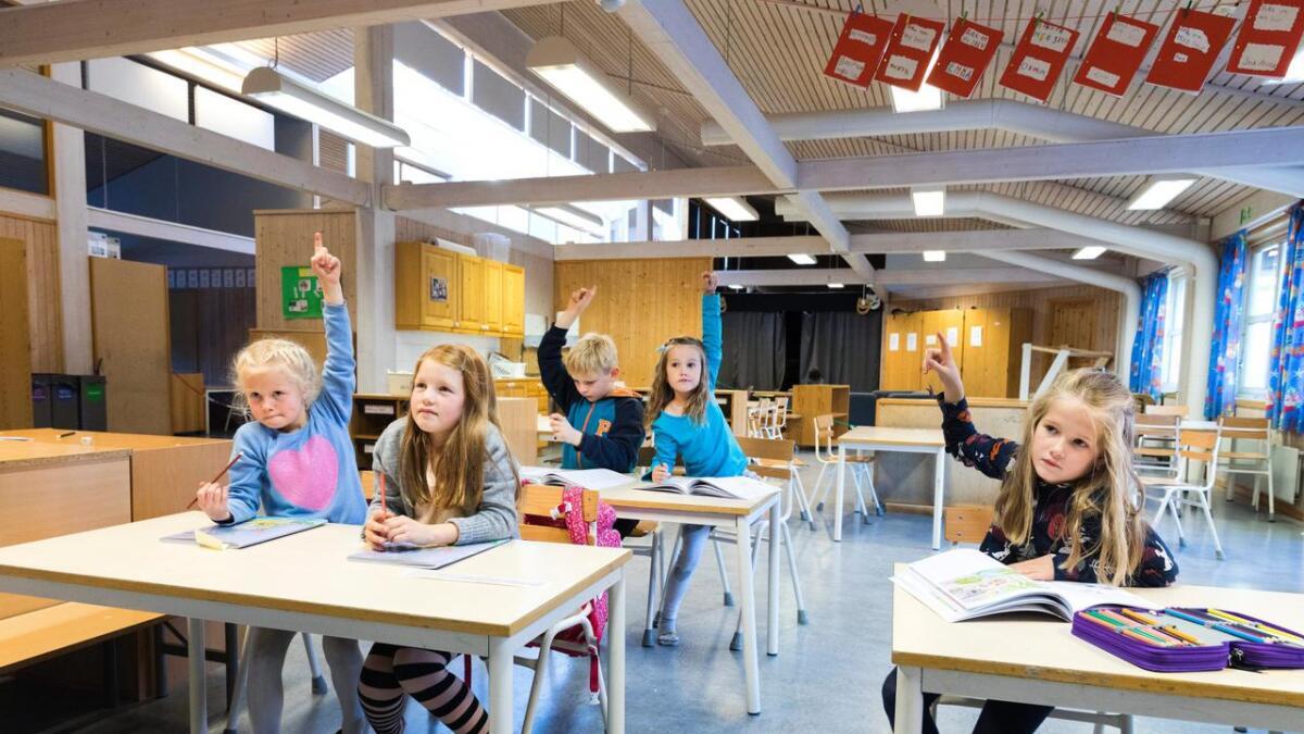 Regjeringen ber kommunene teste ut ordninger for fleksibel skolestart. Illustrasjon.