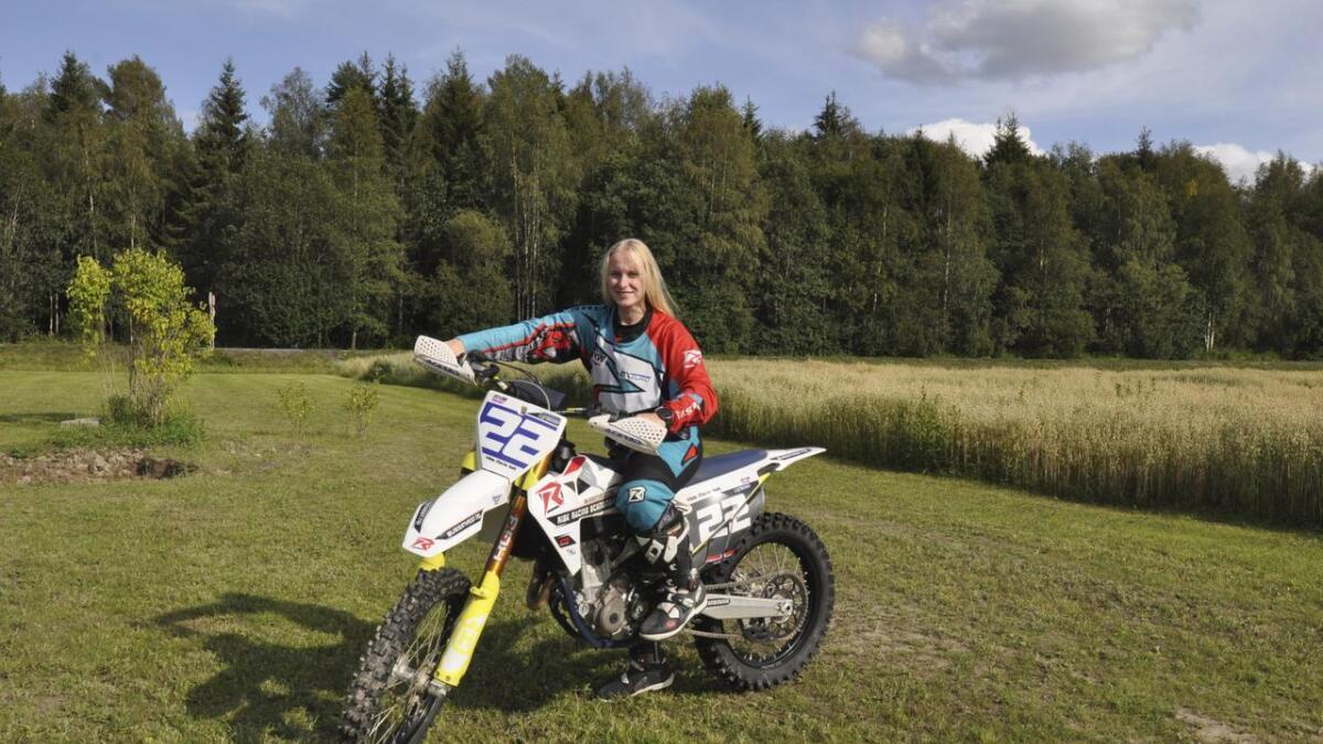 Motivasjonen som driver Vilde Marie Holt i motocross er at hun en dag vil bli verdensmester.