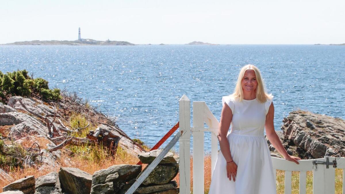 Kronprinsesse Mette-Marit er selv fra Sørlandet, og er vant med ferie i landsdelen.