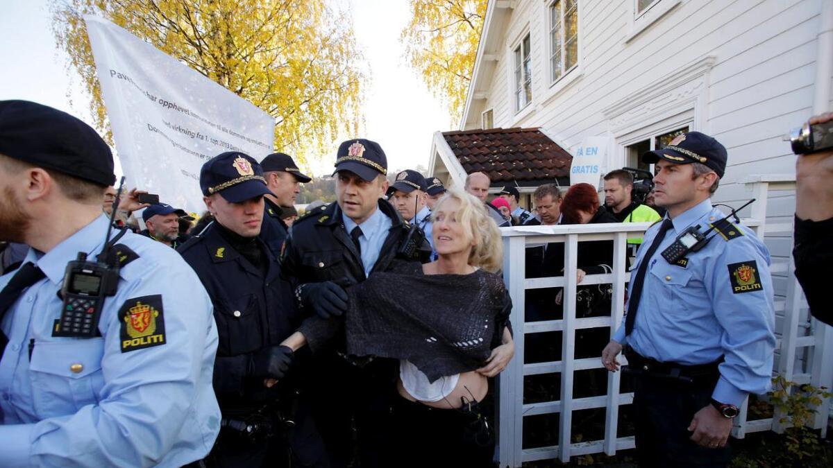 Ingunn Røiseland Sigurdsdatter ble mandag kastet ut av huset i Skippergata.