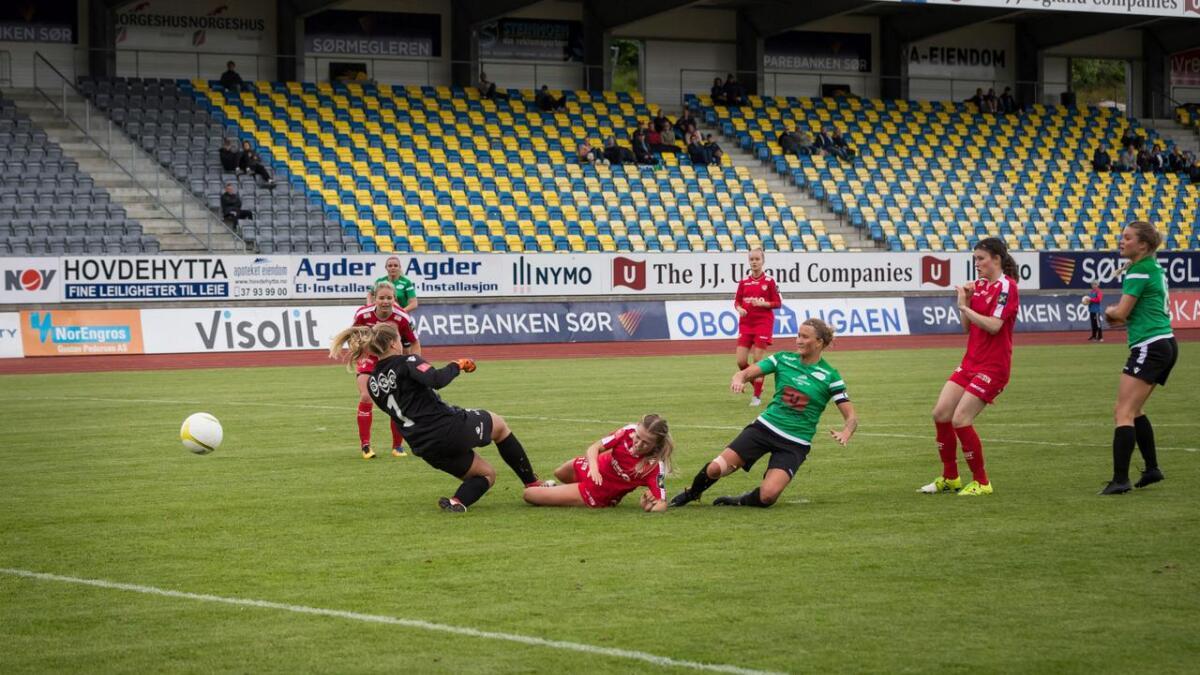 Amazon slo Grand Bodø hele 7-1 på Levermyr. Søndag tapte grønntrøyene 1-2.