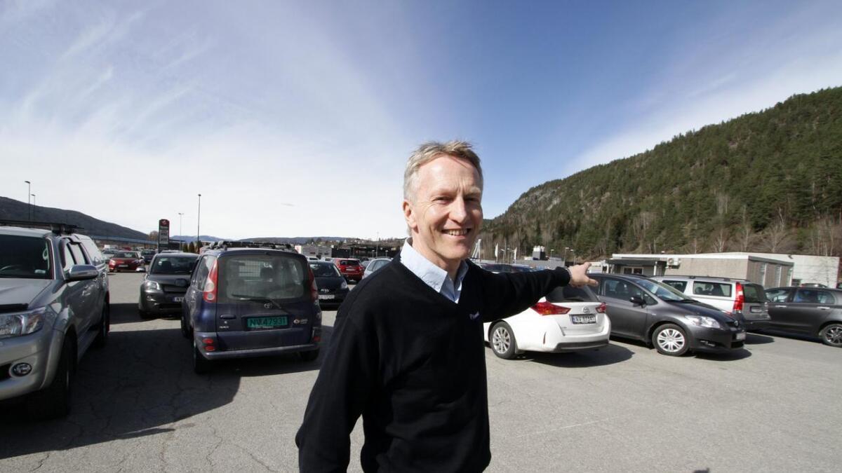 Egil Funnemark er eneeier i Funnemark AS med en omsetning på over en milliard kroner.