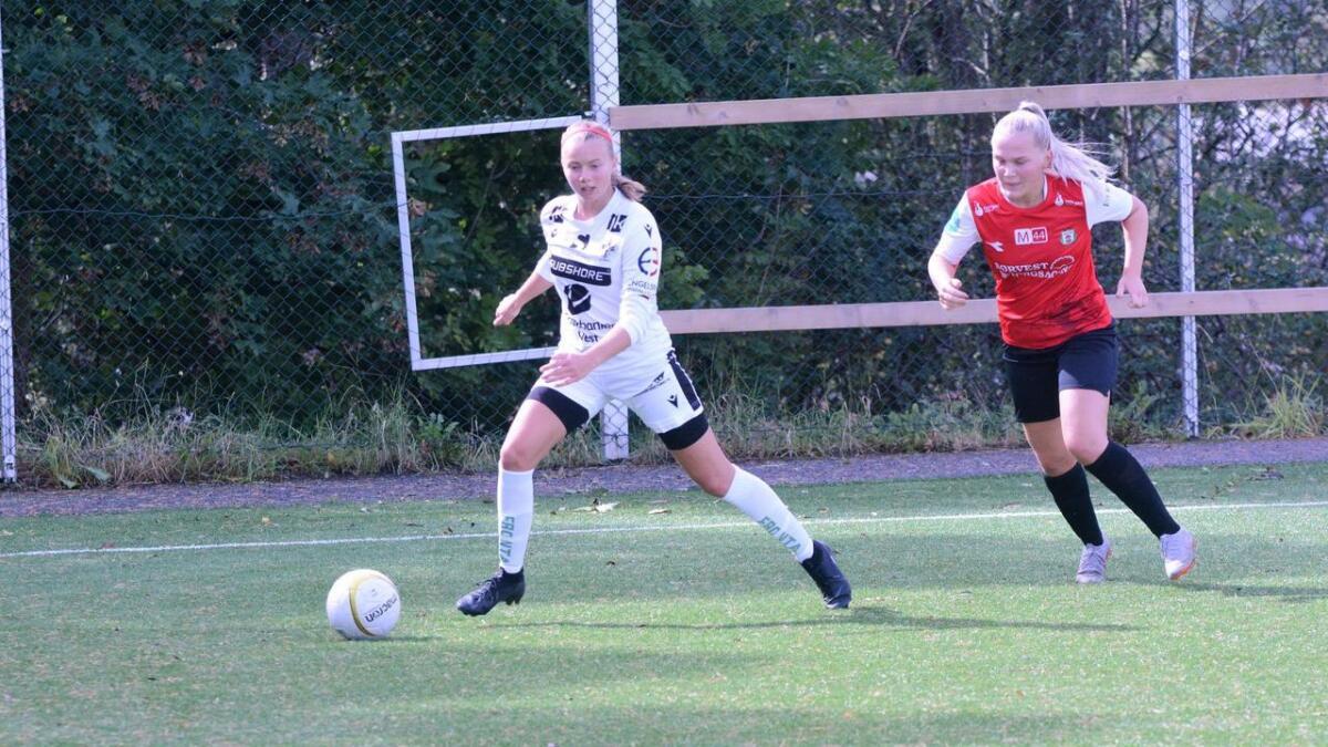 Sanne Bolette Dale Lekven var nok ein gong sentral i ein Stord-siger. Først utlikna ho til 1-1, før ho serverte Vilde Folgerø ved 2-1-scoringa.