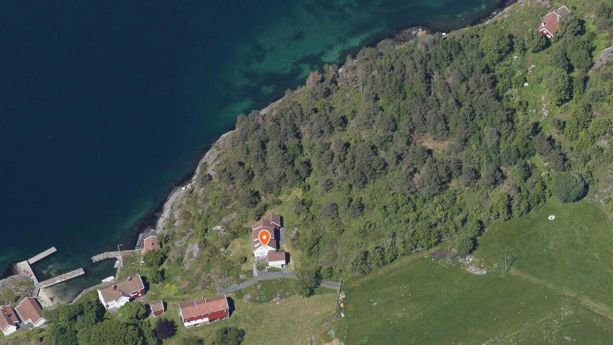 Et sommerhus i dette området er ovedratt for 18 millioner kroner.