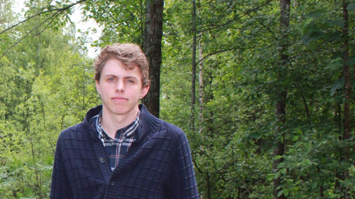 Jacob Handegard, leder i Aust-Agder Unge Venstre.