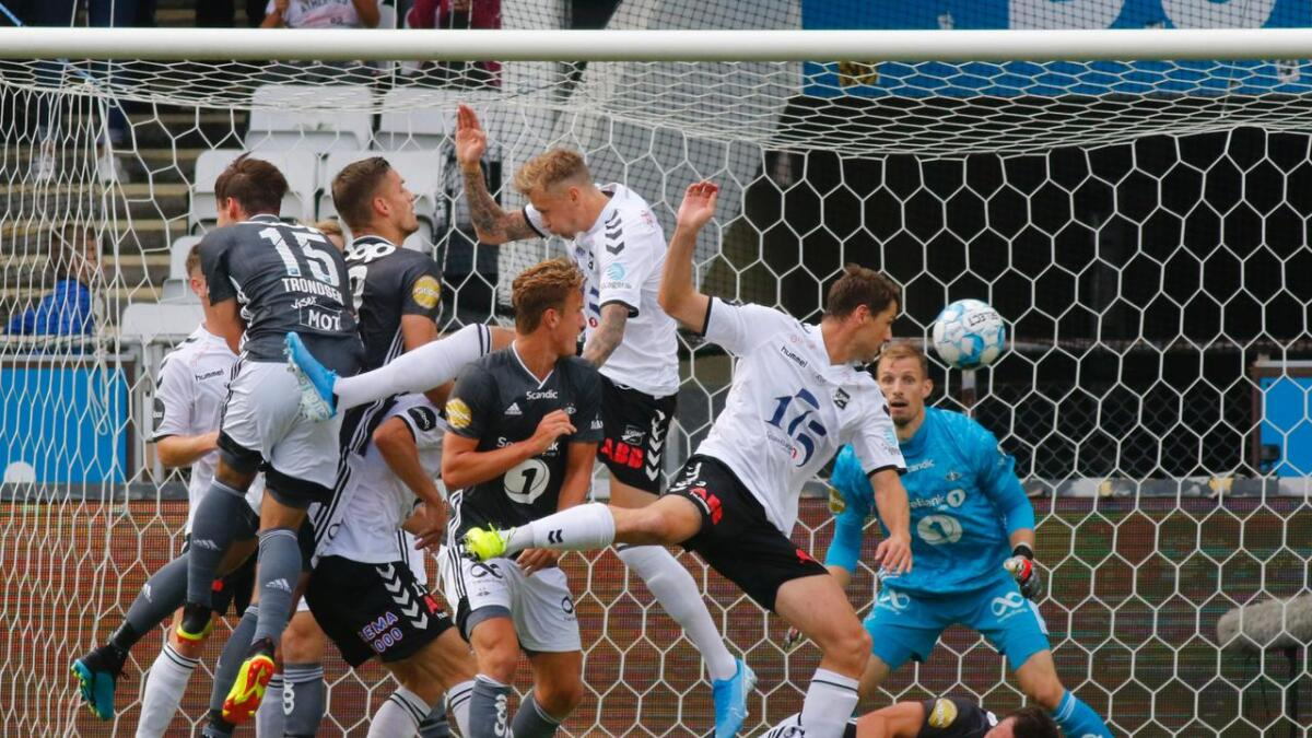 Odd er fortsatt uten tap på eget gress denne sesongen. Lørdag ble det 1-1 mot Rosenborg.