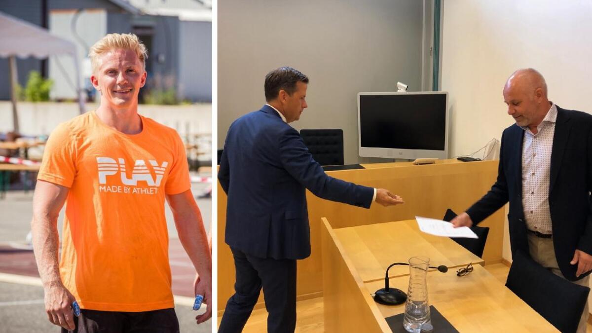 Frolending og crossfitgründer Glenn Rune Olsen taper flere hundre tusen på konkursen i Seaside Production.
