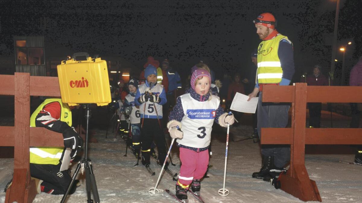 Sina Sofie Nordlie, Nes Ski, ut fra start.