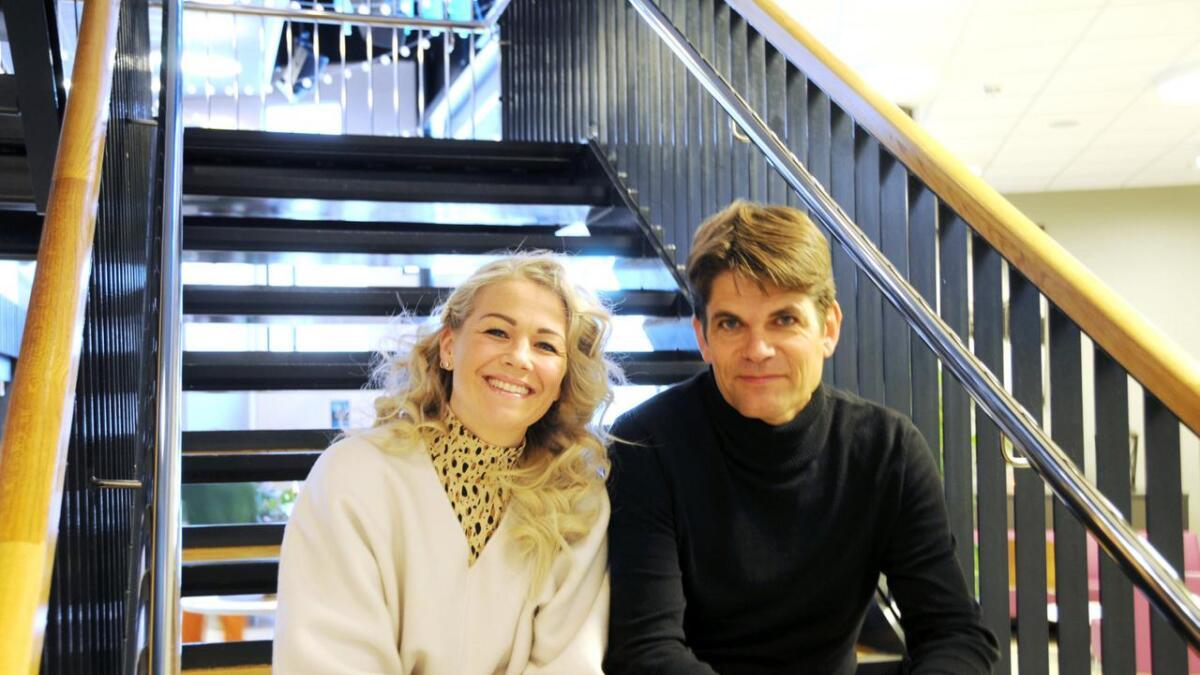 Maria Haukås Mittet og Lars Bremnes gleder seg til å holde konsert på Sortland fredag kveld.