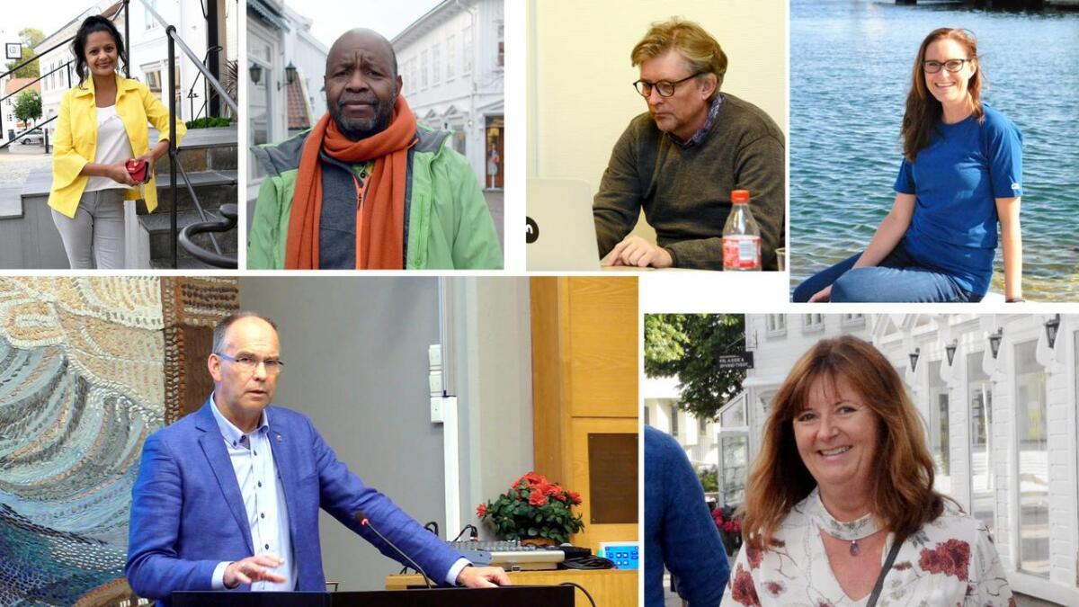 Her kan du se alle politikerne som stiller til valg i Grimstad.