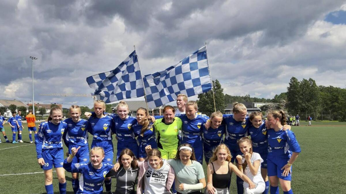 Nore Neset jenter 14 feira finalesigeren i B-sluttspelet i Sør Cup onsdag ettermiddag.