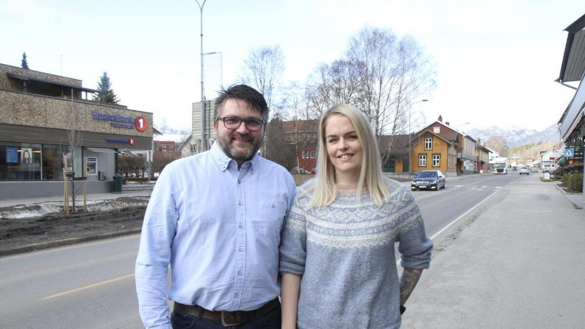 Ekteparet Vidar Jørgensen og Helene  Åkerøy Jørgensen toppa lista til Raudt.