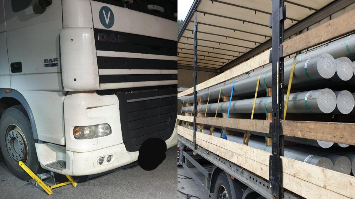 Det ble funnet mange feil på vogntog under tungbilkontrollen på Notodden fra søndag til onsdag denne uka.