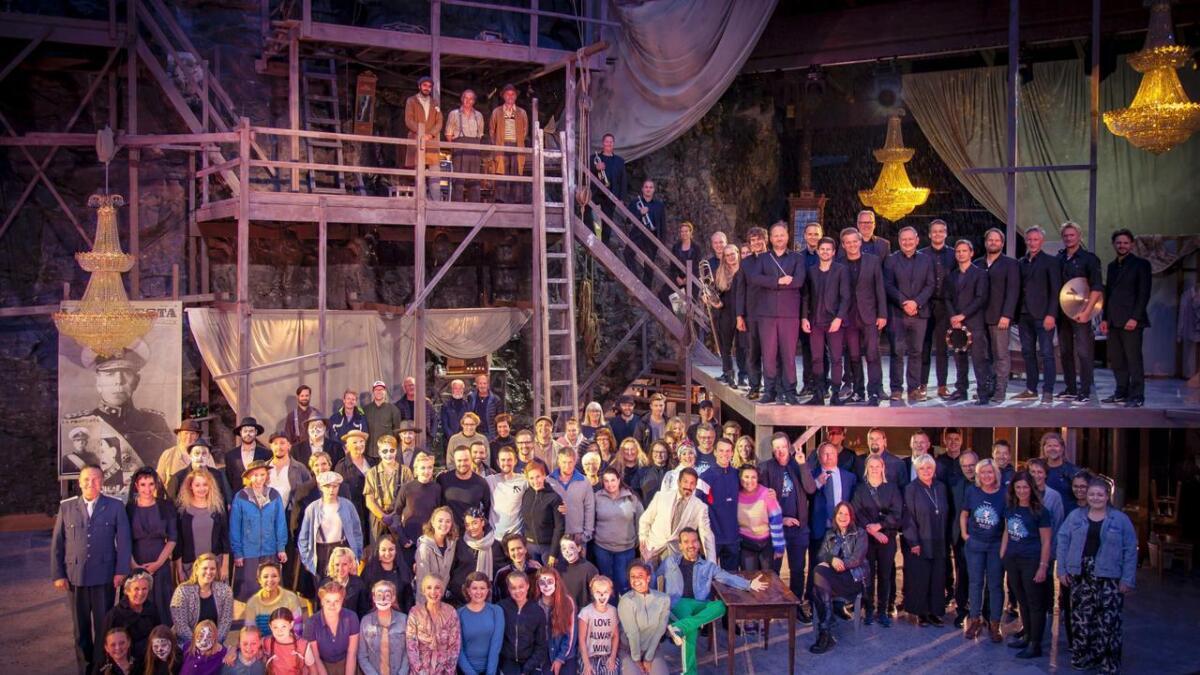 Musikalen Evita blei sett opp i august 2018 og over 150 personar var involvert i dette. Tusenvis av dugnadstimar vart lagt ned, og unike sosiale band vart knytt.
