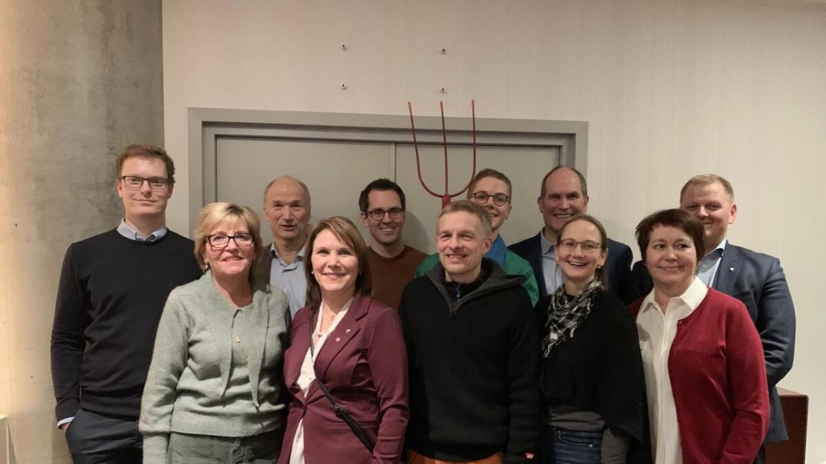 Delegasjonen fra Vesterålen.