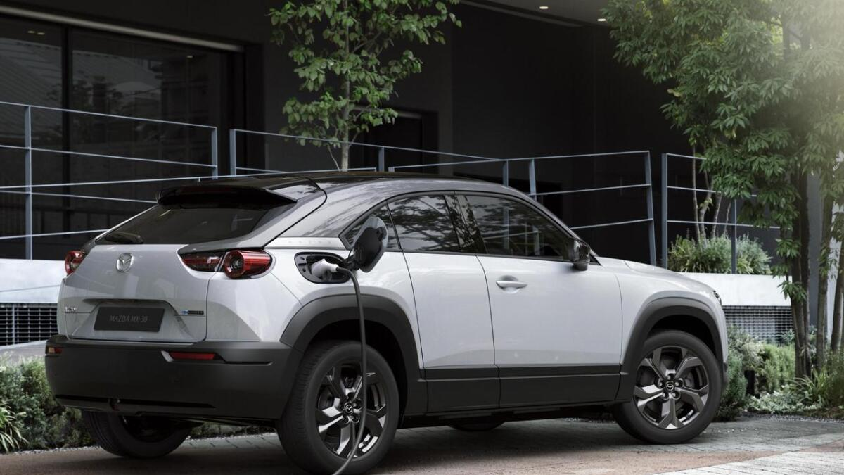 Neste år er Mazda i elbilsegmentet, for første gong.