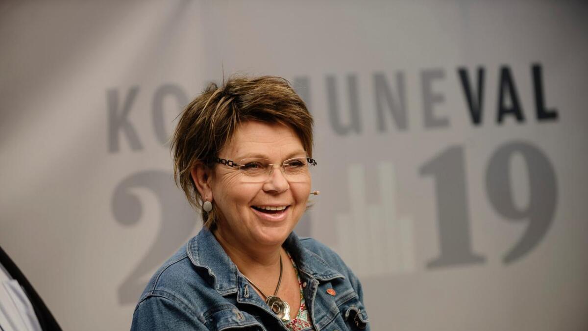 Merete Elisabeth Gandrud har fått endå meir lyst på ordførarstolen etter det gode kommunevalet til Flå Ap. Arkiv