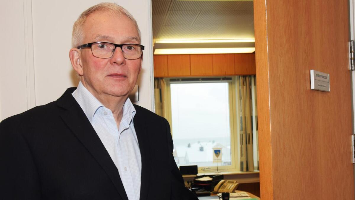 – Dette er ikke utelukkende en Andøy-sak. Mest av alt er dette en sak av nasjonal karakter, sier Andøy-ordfører Jonni Solsvik (H).
