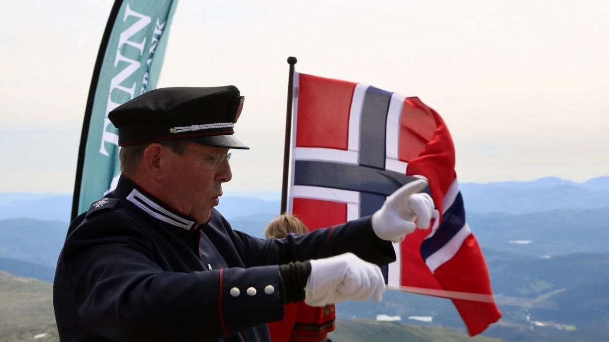 Korpsleder Øyvind Strand