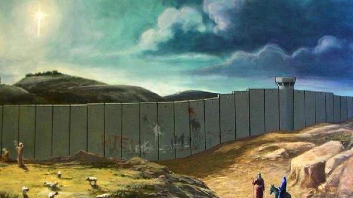 X-mas av street-art-kunstneren Banksy.