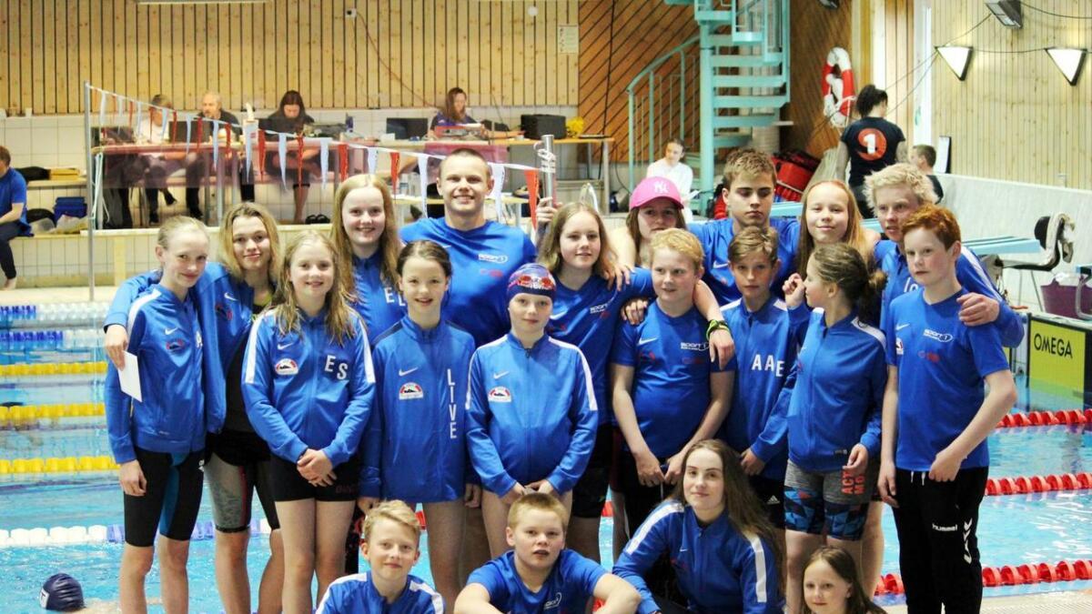 Sortland-svømmerne imponerte på helgas stevne på Fauske.