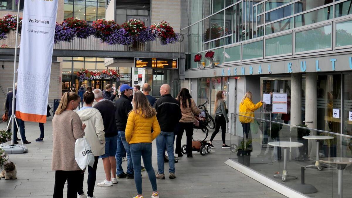 I Arendal avga 62 prosent av de stemmeberettigde sin stemme ved lokalvalget. En sterk økning fra forrige lokalvalg.